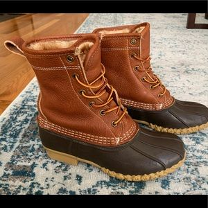 LL Bean: Bean Boots, Shearling Lined (8in)